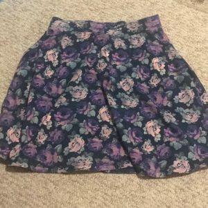 Target Skater Skirt Floral